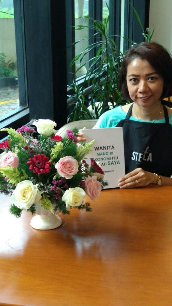 belajar bisnis bunga dari rumah